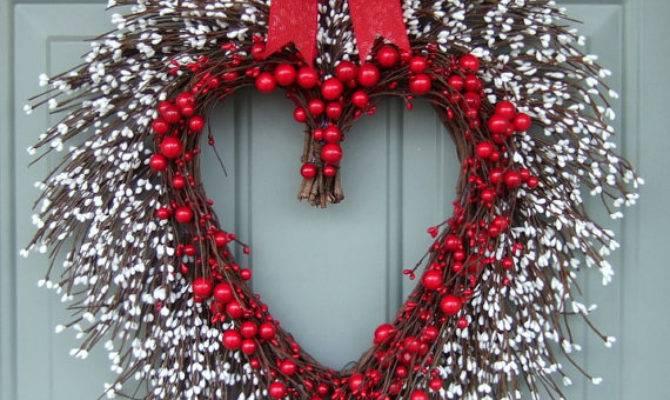 Wonderful Diy Valentine Day Wreaths
