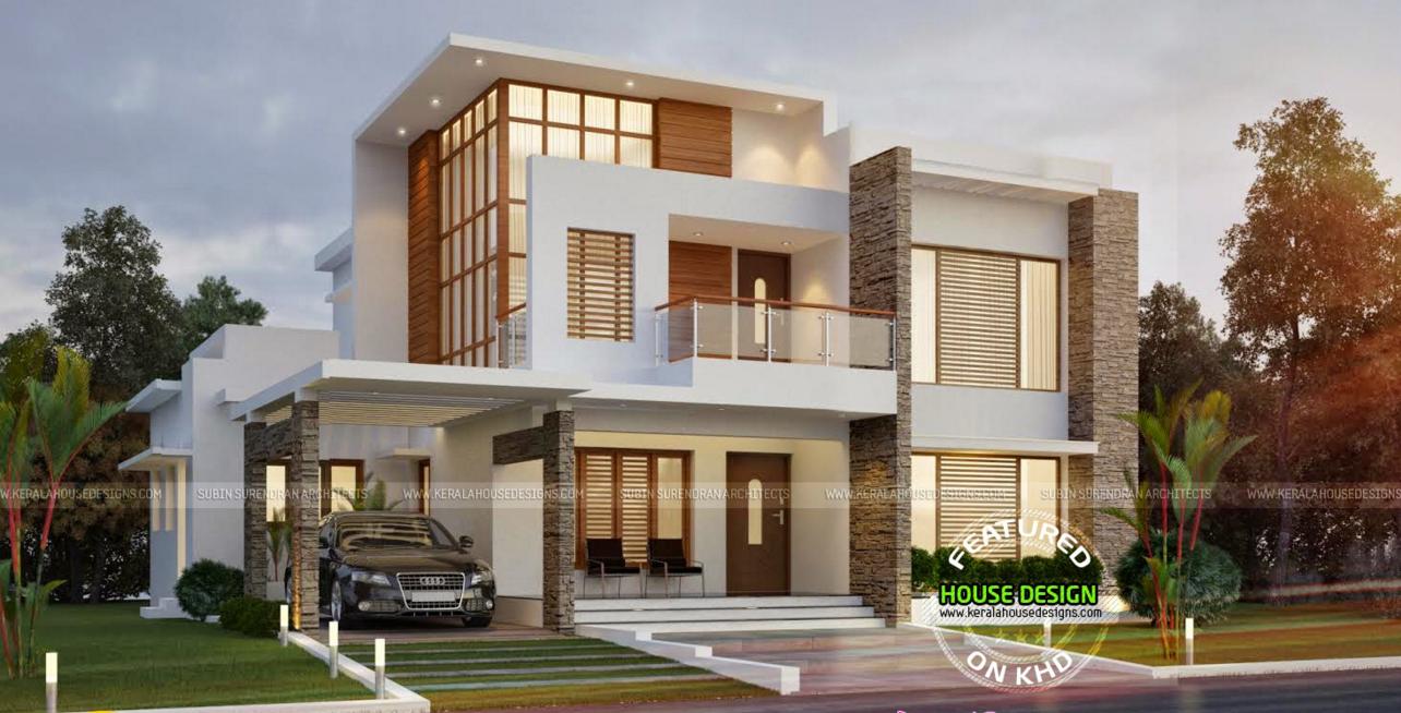 Wonderful Double Storey House Designs Civil Engineering Tuts House Plans 151654