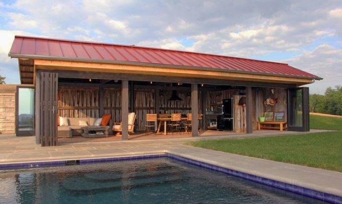 Wonderful French Style House Plans Part Barn Living Pole Quarter
