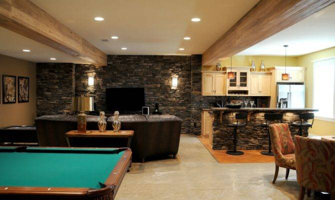 Wonderful Gaming Room Built Inside Basement Remodel Ideas Green