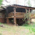 Wonderful Old Fashioned Colorado Log Cabin Grand Porch