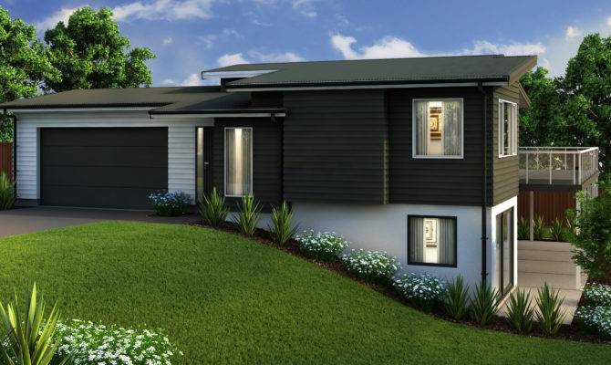 Wonderful Split Level House Plans Modern Home Designs