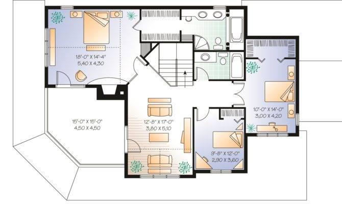 Wonderful Wrap Around Porch Second Floor Plan Maverick Custom Homes