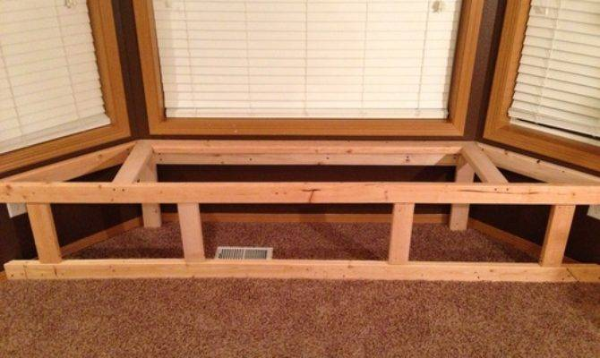 Wood Build Bay Window Seat Bench Pdf Plans