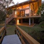 Wood Casey Key Guest House Design Totems Architecture