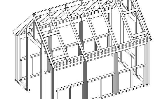 Wood Frame Green House Plans Plan Reviews