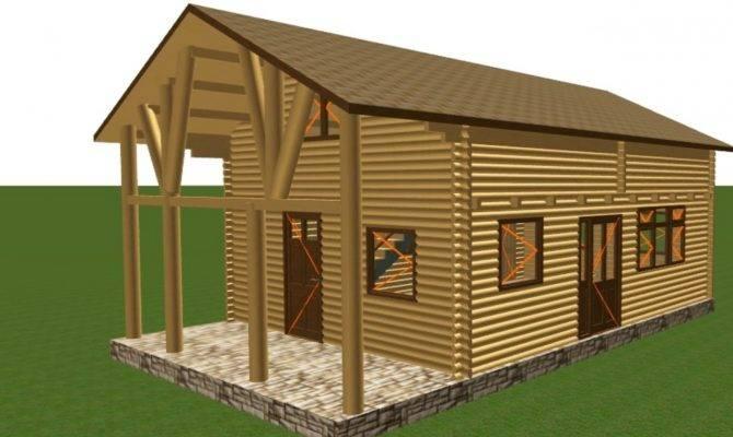 Wood Garage Building Kits Pole Frame