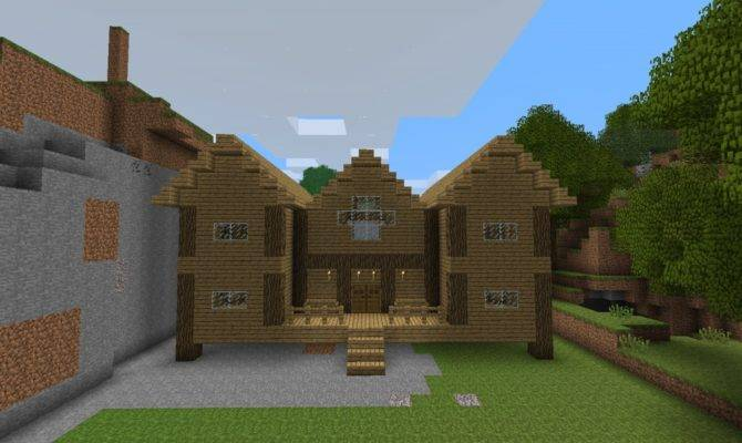 Wood House Minecraft Project