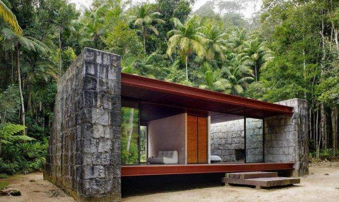 Wood Minimalist House Cabin Design Architect Carla Juacaba