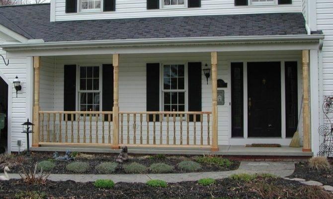 Wood Porch Railings Posts