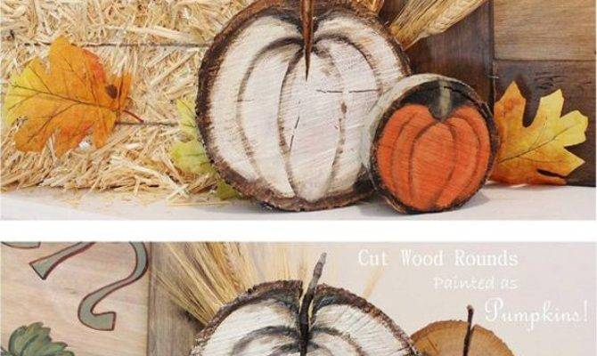Wood Slice Diy Ideas Art Design