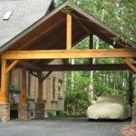 Wooden Carports Custom Wood Carport House Plans Ideas Pinterest