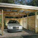 Wooden Carports