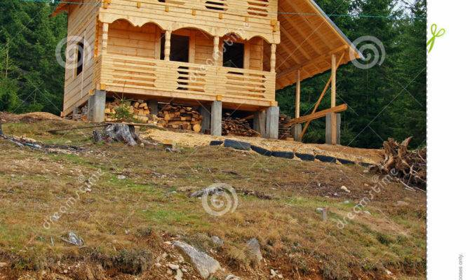 Wooden Cottage Construction