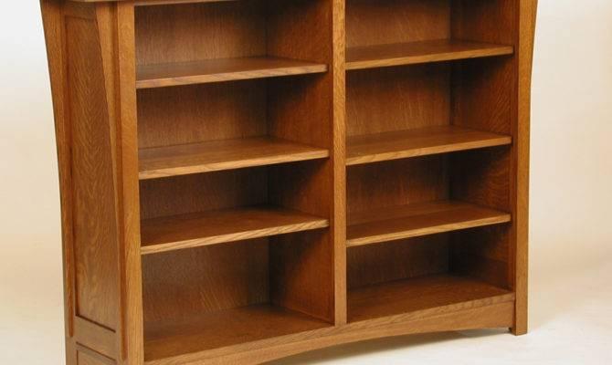 Wooden Craftsman Style Bookcase Plans Pdf