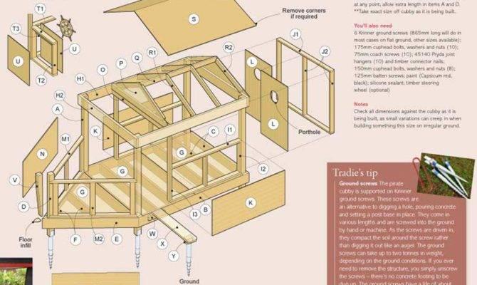 Wooden Cubby House Plans Pdf Build Wood Mantels