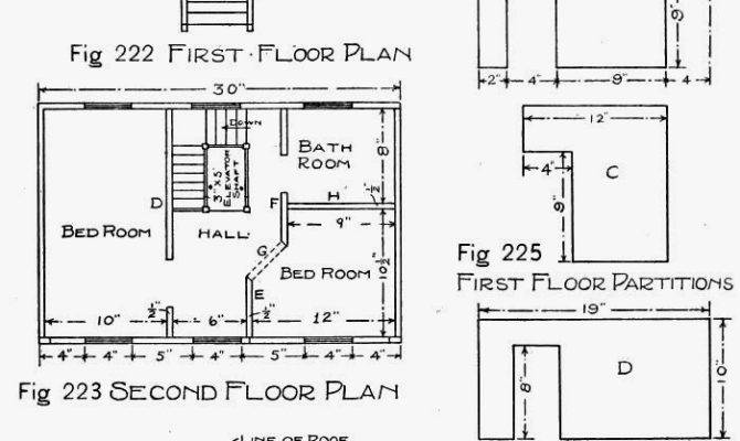 Wooden Doll House Plans Make