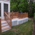 Wooden Front Porch Railings