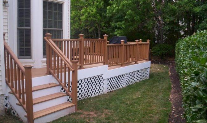 Wooden Front Porch Railings