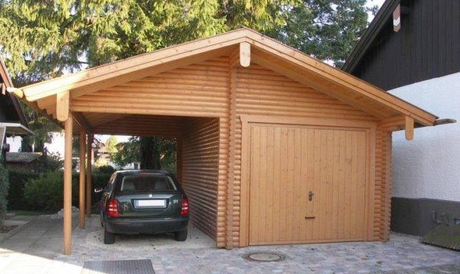 Wooden Garages More Space Your Home Quick Garden