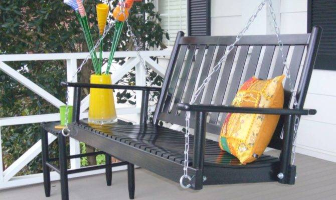 Wooden Outdoor Porch Swing Dixie Seating Company Patio
