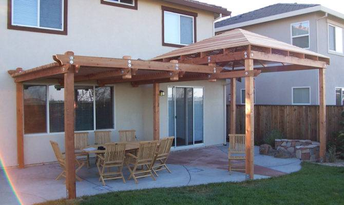 Wooden Patio Covers Give High Aesthetic Value Best