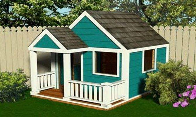 Wooden Playhouse Plans Howtospecialist Build Step
