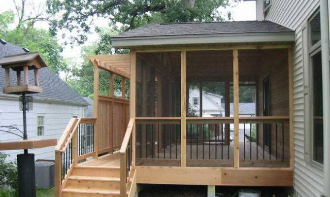 Wooden Porch Designs