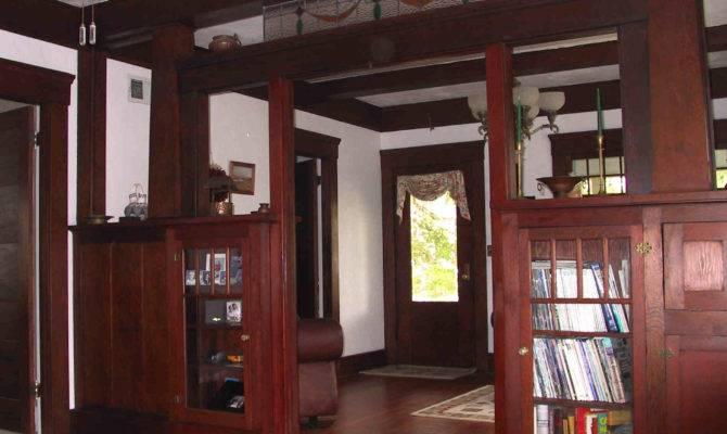 Wooden Style Craftsman Interior Artistic Design Ideas