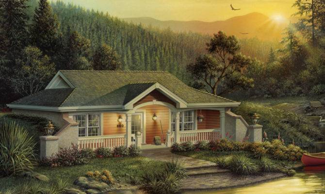 Woodhaven Vacation Home Plan House Plans More