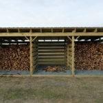 Woodshed Slat Spacing Arboristsite