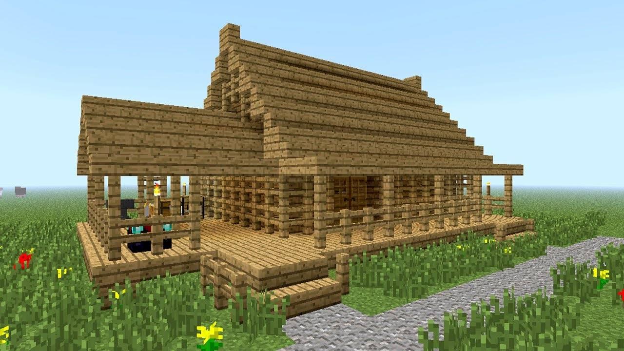 Woodwork Build Wood House Minecraft Pdf Plans - House ...