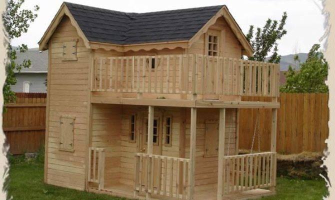 Woodwork Childrens Playhouses Plans Pdf