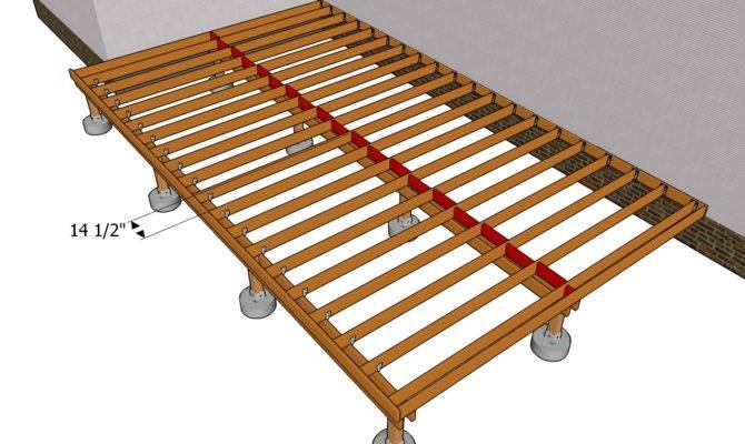 Woodwork Deck Building Plans Pdf