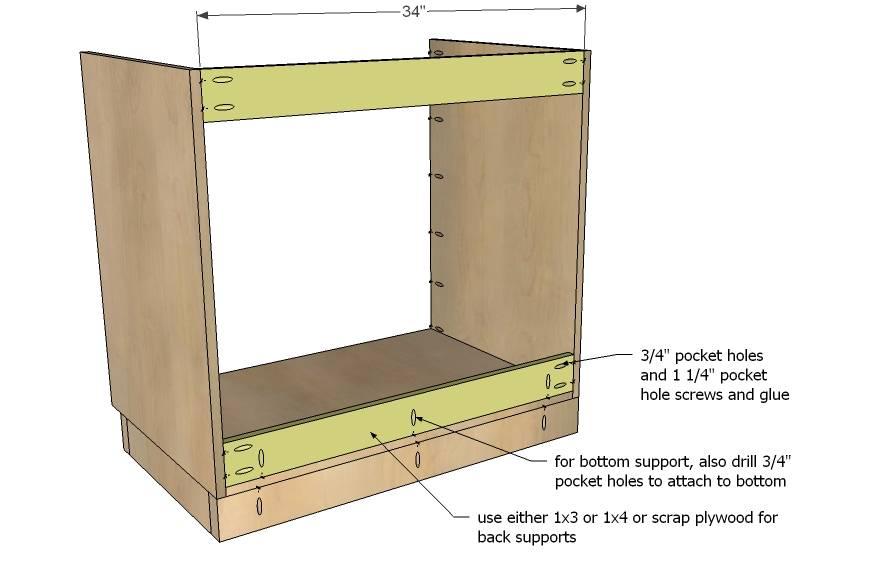 Woodwork Plans Kitchen Cabinet Base Pdf, Building Kitchen Cabinets Pdf