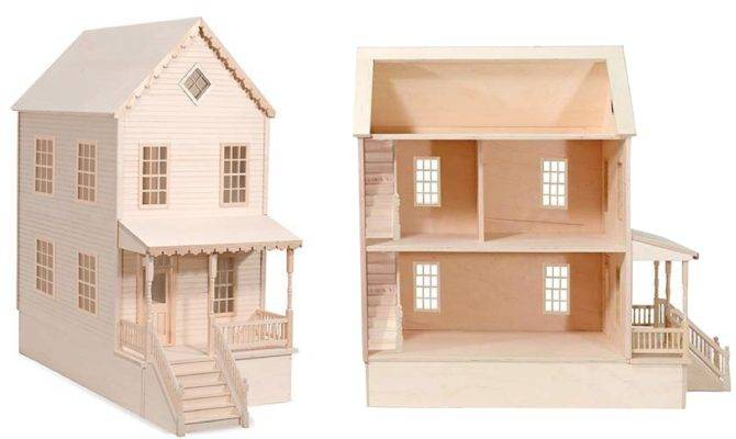 Woodwork Wood Doll House Plans Pdf