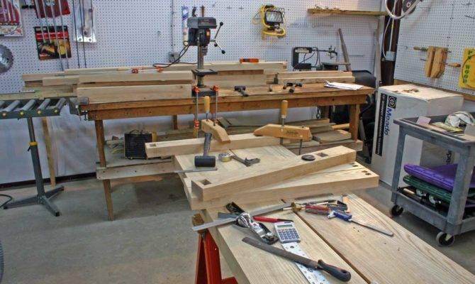 Woodworking Garage Layout Unique Green