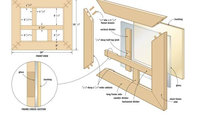 Woodworking Plans Frames Woodproject