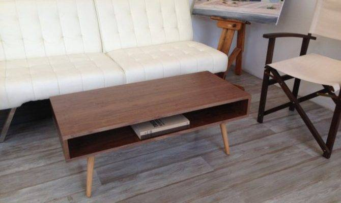 Woodworking Plans Furniture Mid Century Coffee Table