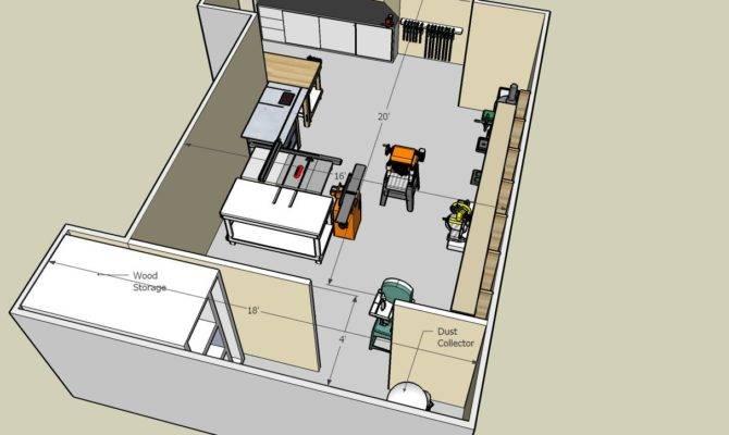 Woodworking Shop Floor Plans Pdf