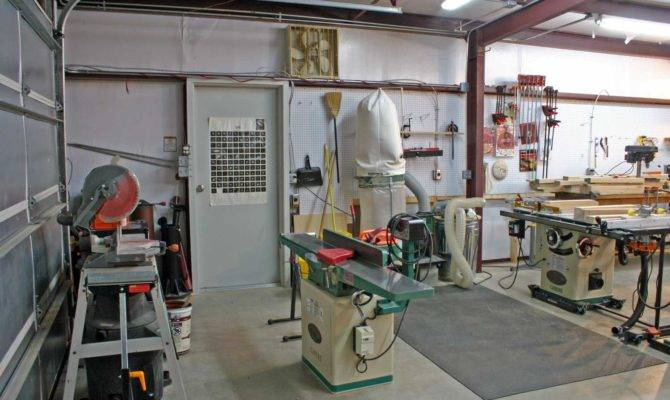 Woodworking Shop Layout Woodoperating Machines