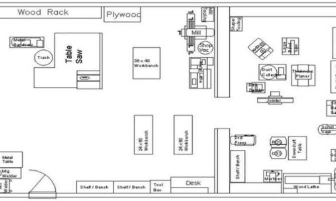Workshop Floor Plan Bob Vila