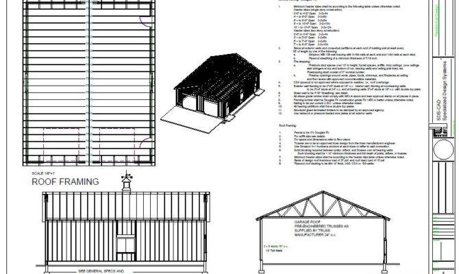 Workshop Garage Plans
