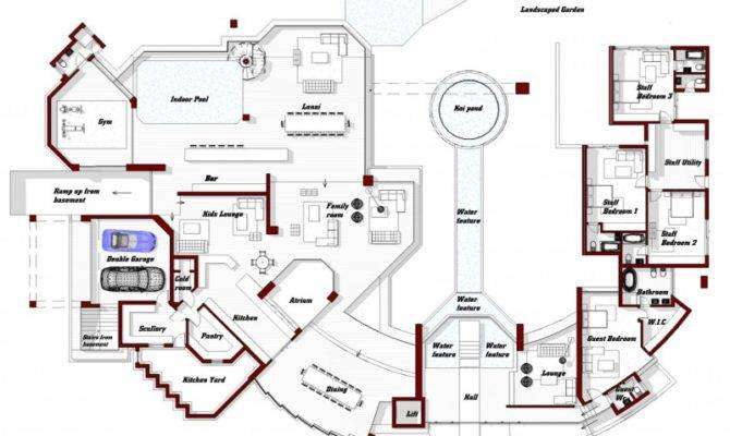 World Architecture Amazing Home Glass House Nico Van Der