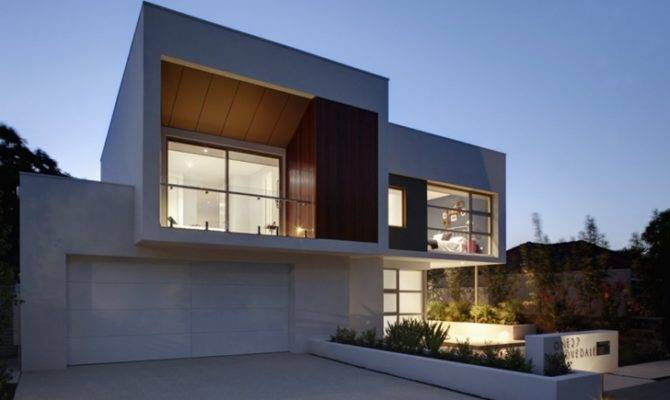 World Architecture Attractive Contemporary Style Home