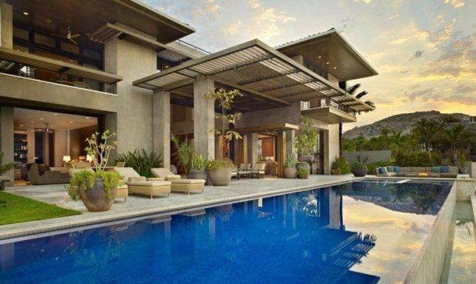 World Architecture Gorgeous Modern Stone House