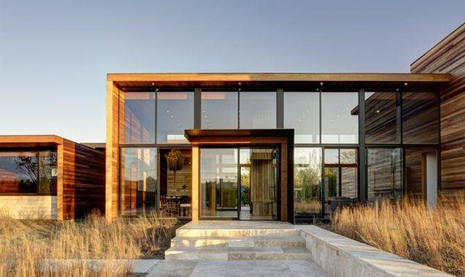 World Architecture Modern Wood House Bates Masi
