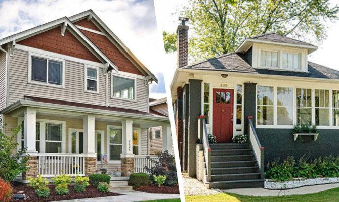 Would Rather New Vintage Craftsman Homes Real