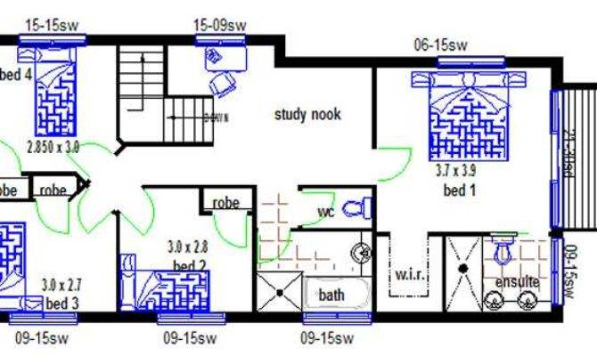 Wow Design Two Storey Bedroom Small Lot Plan