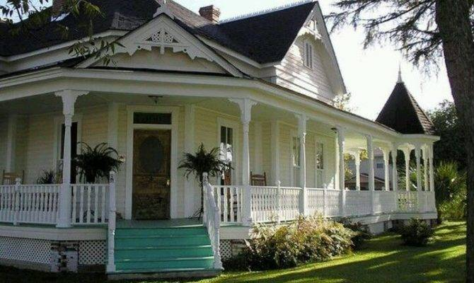 Wrap Around Porch Country Pinterest